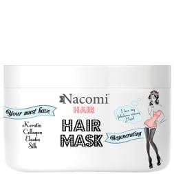 Masque nourrissant & régénérant à la kératine - Cheveux secs & abîmés - 200 ml