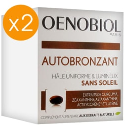 Cure autobronzante - 2 mois - 2 x 30 capsules