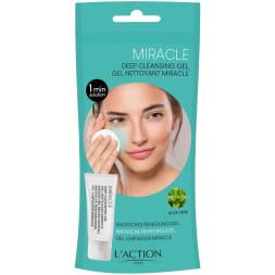 Gel Facial Limpiador Purificante Milagro 1 Minuto con Aloe Vera - 40 ml
