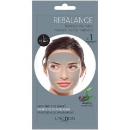 Masque rééquilibrant au bambou et charbon - Peaux mixtes à grasses