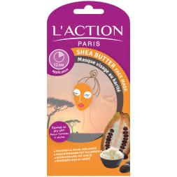 Masque karité - Hydratant & raffermissant - Peaux normales à sèches - 12 g