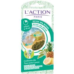 Rituel spa detox – Exfoliant & masque – Peaux mixtes à grasses– Unidose – 15 g