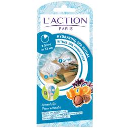 Rituel spa hydratant – Exfoliant & masque – Peaux normales– Unidose – 15 g