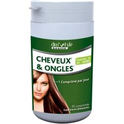 Comprimés anti-chute fortifiant & reminéralisant - Cheveux & ongles – 1 mois