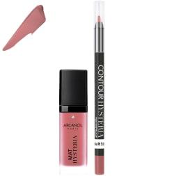 Kit Hysteria lips - Lèvres - Jazz brun de rose - 2 produits