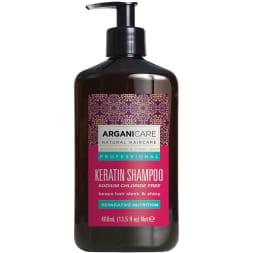 Shampoing à la kératine - Tous types de cheveux - 400 ml
