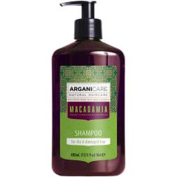 Shampoing réparateur - Argan & macadamia – Cheveux secs & abîmés - 400 ml