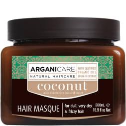 Masque nourrissant réparateur - Huile de coco bio -  Cheveux ternes, très secs - 500 ml