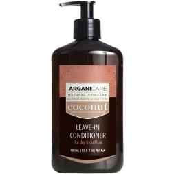 Soin protecteur sans rinçage - Huile de coco - Cheveux ternes, secs et frisés - 400 ml