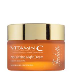 Crème de nuit nourrissante à la vitamine C - Tous types de peaux - 50 ml