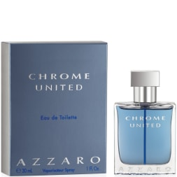 Azzaro Chrome United Eau de Toilette 30 ml - Hombre