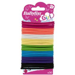 Élastiques colorés - 4mm - Cheveux - Enfant