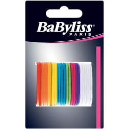 Élastiques à cheveux multicolores sans métal - 25 pièces