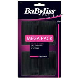 Élastiques noirs - Méga pack - Cheveux