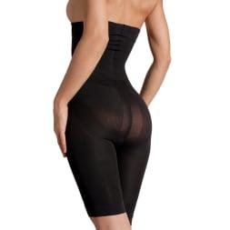 Panty push up taille haute correcteur minceur - Noir
