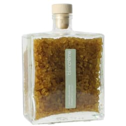 Cristaux de bain enrobés – Ambre - 250 g
