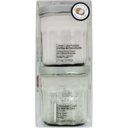 Duo exfoliant & hydratant - Corps - Noix de coco & litchi - 2 x 175 ml