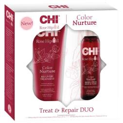 Coffret 2 soins à l'huile de rose musquée - Cheveux colorés