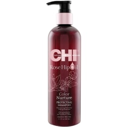 Shampoing protecteur à l'huile de rose musquée - Cheveux colorés - 340 ml