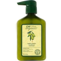 Soin revitalisant à l'huile d'olive - Corps et cheveux - 340 ml
