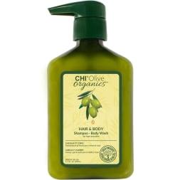 Gel lavant à l'huile d'olive - Corps et cheveux - 340 ml