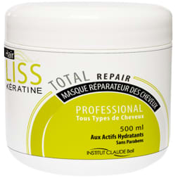 Masque capillaire réparateur - Hair liss keratine - 500 ml