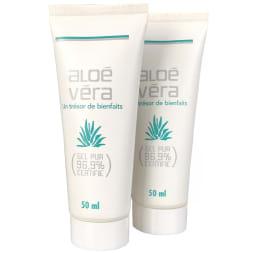 Duo de gels d'Aloe Vera cosmétique - 2 x 50 ml