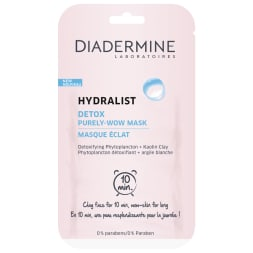 Masques detox - Hydralist - Visage - 20 unités