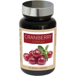 Cranberry complex - Confort urinaire - 20 jours - 60 gélules