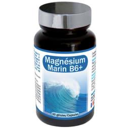 Magnesium marin B6+ - Sommeil et équilibre nerveux - 1 mois - 60 gélules