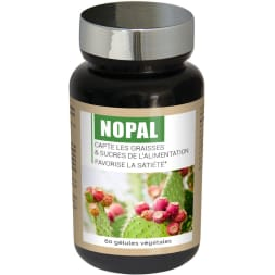 Compléments alimentaires - Nopal - Capteur naturel de sucre et de graisses - 30 jours