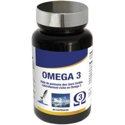 Oméga 3 - Équilibre cardio-vasculaire - 1 mois - 60 capsules