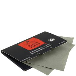 Papiers matifiants au charbon - 50 unités