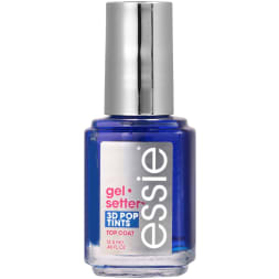 Top coat effet gel - Birds eye blue - 13,5 ml