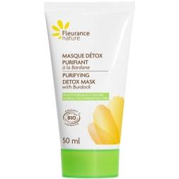 Masque détox purifiant bio - Peaux normales à grasses - 50 ml