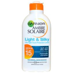 Lait protecteur léger & soyeux SPF 15 - 200 ml