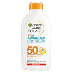Lait protecteur enfants SPF 50 - Peaux sensibles - 200 ml