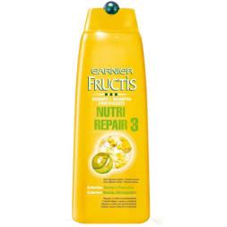 Shampoing fortifiant - Nutri-repair 3 huiles - Cheveux secs et abîmés - 300 ml