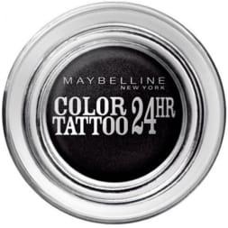 Ombre à paupières crème - Color Tattoo 24h - Timeless blak