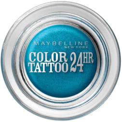 Ombre à paupières crème - Color Tattoo 24h - Turquoise forever