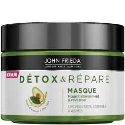 Masque nourrissant - Détox & répare - Cheveux secs et abîmés - 250 ml