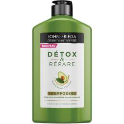 Shampoing revitalisant - Détox & répare - Cheveux secs et abîmés - 250 ml