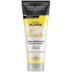 Soin démêlant éclaircissant Go blonder - Sheer Blonde - 250 ml