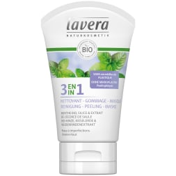 Soin 3-en-1 nettoyant, gommage & masque bio - 125 ml