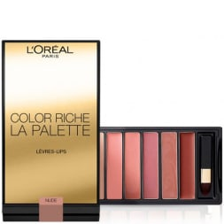 Palette de rouges à lèvres - Color riche - Nude