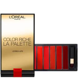 Palette de rouges à lèvres - Color riche - Rouge