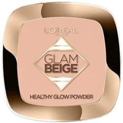 Poudre effet bonne mine - Glam beige - Peaux claires