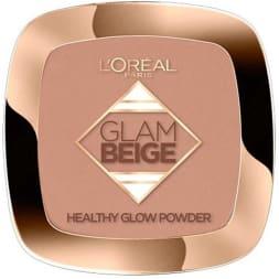 Poudre effet bonne mine - Glam beige - Peaux claires à médiums