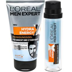 Kit Men Expert - Gel nettoyant et soin hydratant - Spécial barbe de 3 jours
