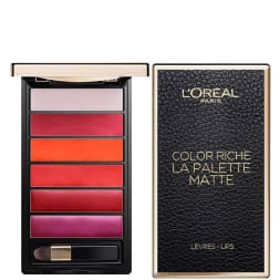 Palette de rouges à lèvres - Color Riche - Matte bold
